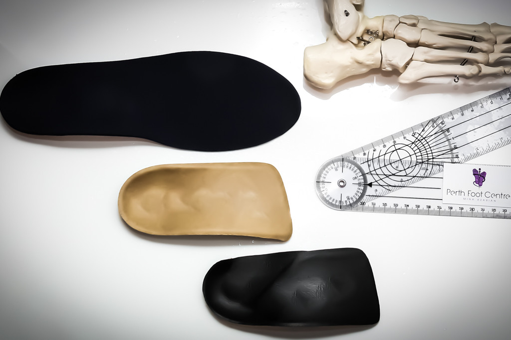 Orthotics are made in different sizes and types based on your needs